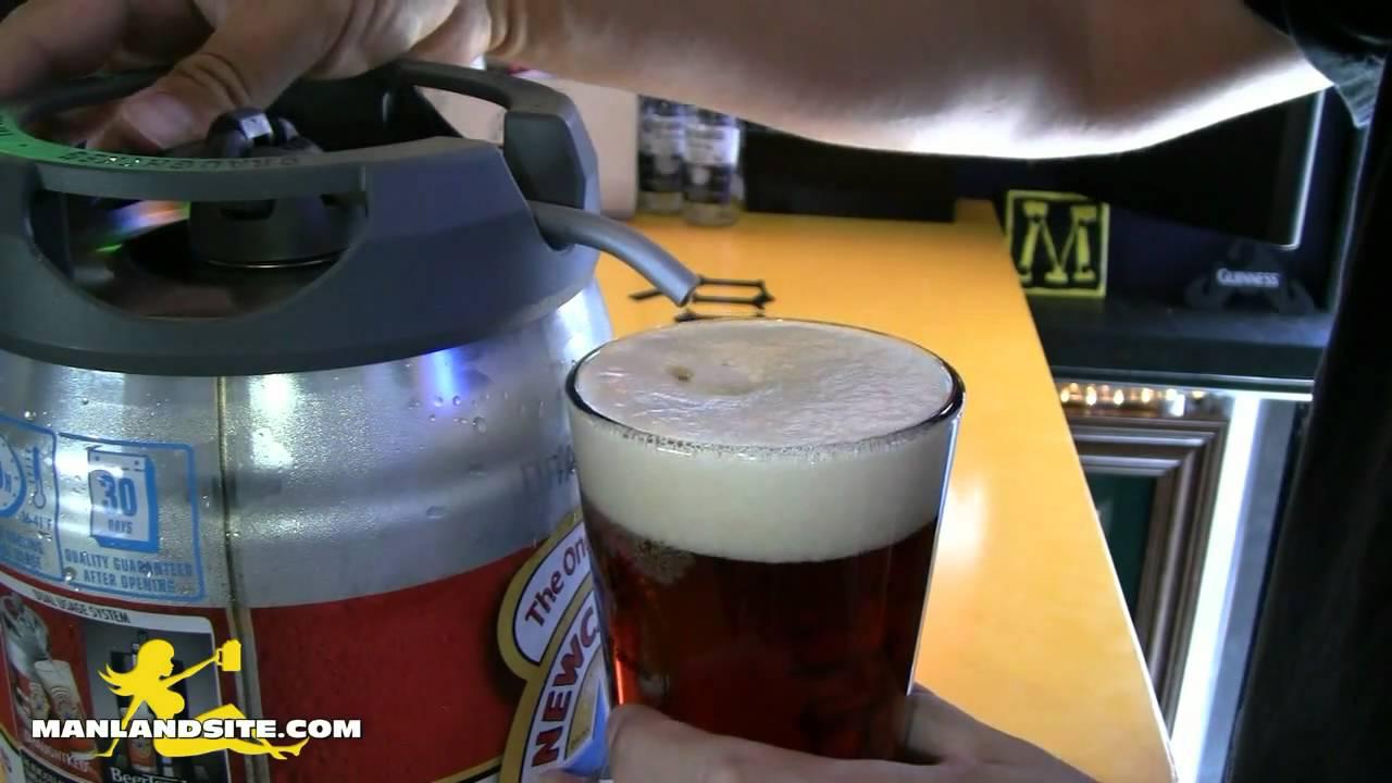 Midget keg beer