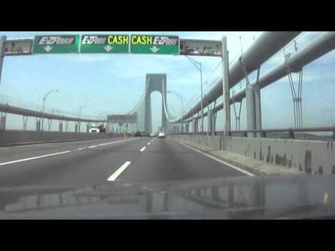 Crossing The Verrazano-Narrows Bridge With A $13 RIPOFF Toll.
