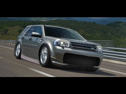 virtual tuning 7 land rover freelander youtube. Black Bedroom Furniture Sets. Home Design Ideas