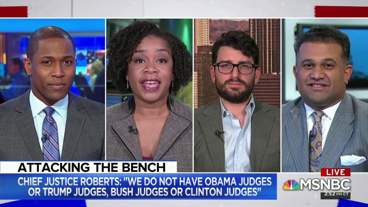 MSNBC: Trump v. Justice Roberts