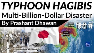 Typhoon Hagibis Multi-Billion-Dollar Disaster Current Affairs 2019