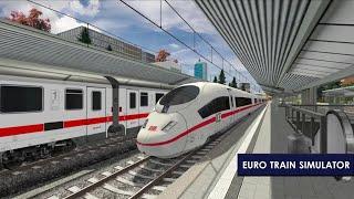 euro train simulator 2 - Highbrow Interactive Android Gameplay HD screenshot 2