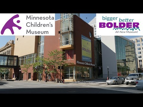 Minnesota Children's Museum is Bigger Better Bolder (4K)