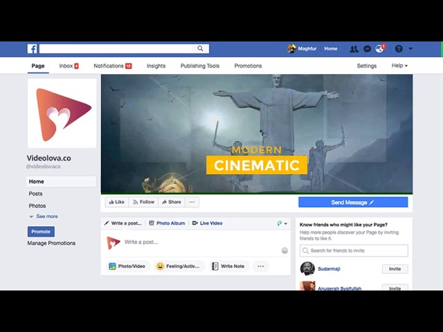 (V1-OTO) Cinematic spritual FB Cover a