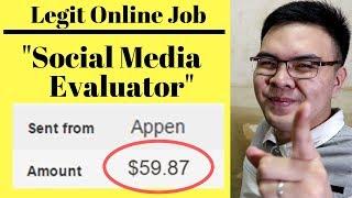 Paano kumita ng $10 to $100 bilang Social Media Evaluator (Facebook , IG, Google)