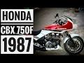 Honda CBX 750F 1987