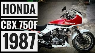"""Honda CBX 750F 1987 """"Hollywood"""": 30 anos de prazer, Baby..."""