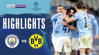 Man City 2-1 Dortmund   Champions League 20/21 Match Highlights
