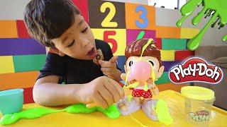 Brincando de Play Doh Snotty Scotty - Brinquedo muito Engraçado 😄