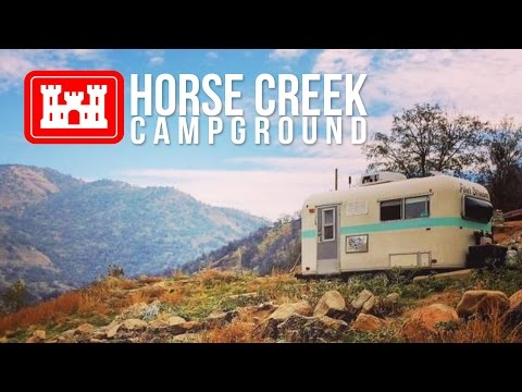 Horse Creek Campground In Lemon Cove, California // Sequoia National Park Camping