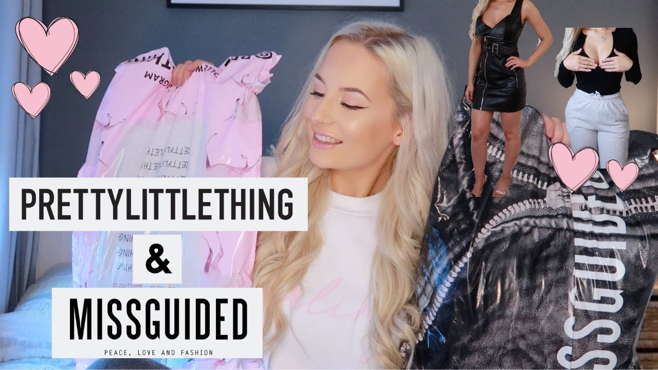 60d48566 PRETTY LITTLE THING & MISSGUIDED TRY ON HAUL JAN 2019 by Abby Heeley