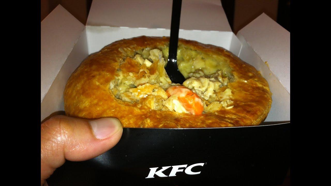 KFC Chunky Chicken Pot Pie Review - YouTube - photo#4