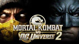 Mortal Kombat VS DC Universe 2 NOT COMING SOON via Ed Boon!