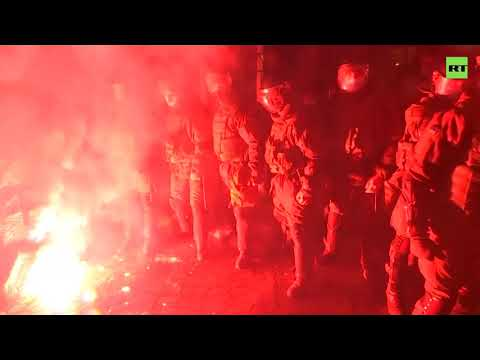 Kiev unrest | Thousands of Ukrainian nationalist protesters clash with police