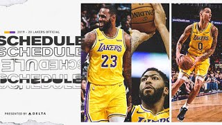 Breaking News: NBA Releases Schedule, Full Lakers Breakdown Live With DTLF!!