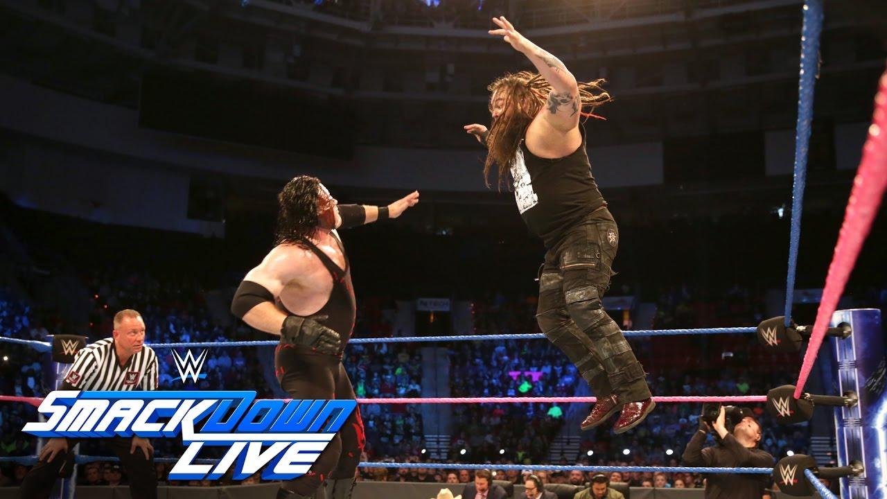 Kane vs. Bray Wyatt - No Disqualification Match: SmackDown ...