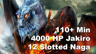 12 Slot Naga. 4k HP Jakiro - Game Breaking Final SumsRift vs ROOT(Dota 2 110 Min. 12 Slot Naga. 4k HP Jakiro Game Breaking Final Summoners Rift vs ROOT BTS Americas Commentary KotlGuy Maut MatchID: ..., 2015-07-20T11:30:00.000Z)