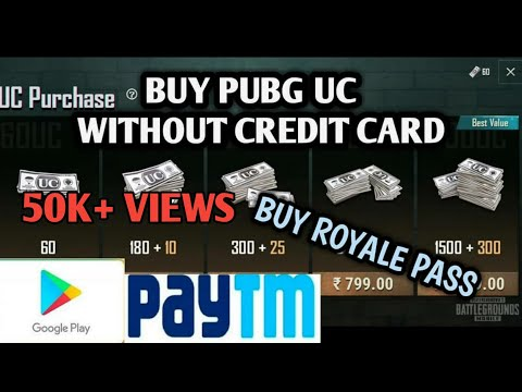 How To Buy UC For PUBG Mobile Without Any Debit Card Or Credit Card | Simple Trick | Paytm | EASY |