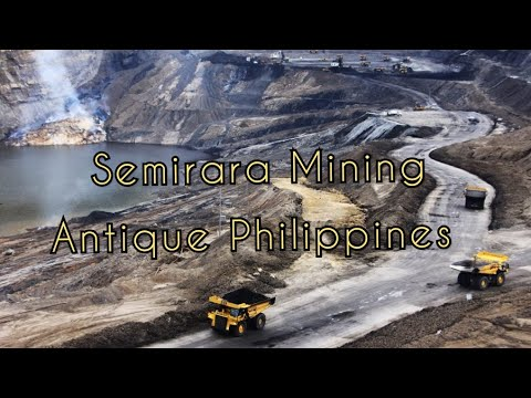 Semirara Mining in Antique // Biggest Mining in Philippines