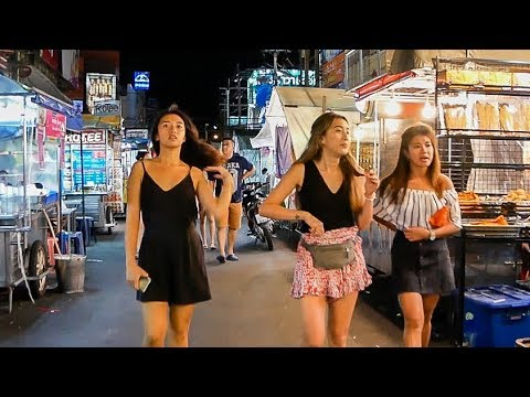 Hua Hin Night Market in Thailand 2017