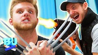 NERF Wolverine Challenge!
