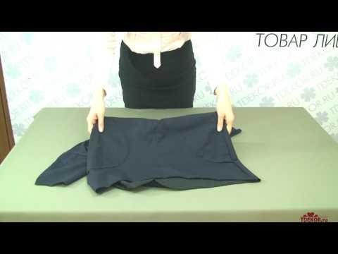 Туника Ласточка (тёмно-синяя)  - Одежда из Иваново