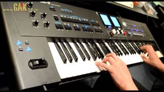 Roland - BK-9 Demo at GAK