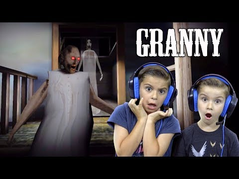 WE ESCAPED OUR GRANNY'S HOUSE!! (Granny Gameplay)