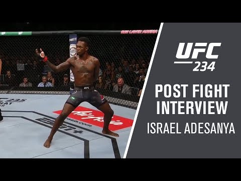 "UFC 234: Israel Adesanya - ""I Nullified His Game"""