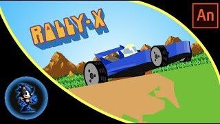 RALLY-X Mania (Animation)