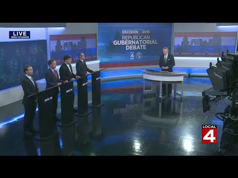 Republican candidates for Michigan governor debate in Detroit