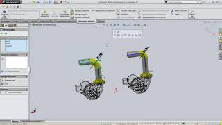 Insertar Componentes en sistema de tuberias Solidworks