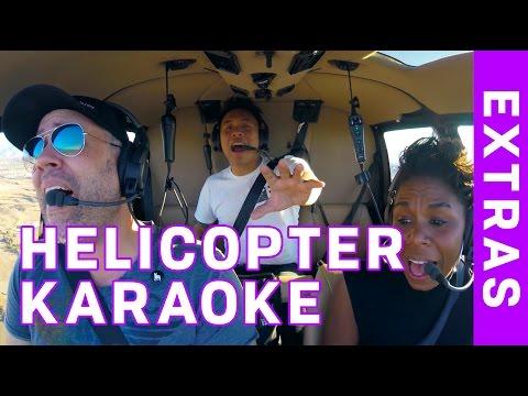 Helicopter Karaoke: Featuring Kamari Copeland and AJ Rafael!