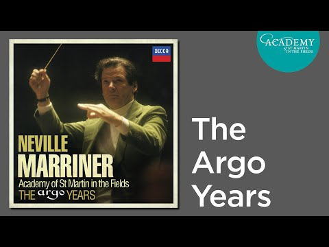 Academy of St Martin in the Fields - Neville Marriner interviews, The Argo Years complete