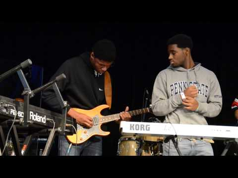 TRE playing - Youth Praise Team - 11/18/12