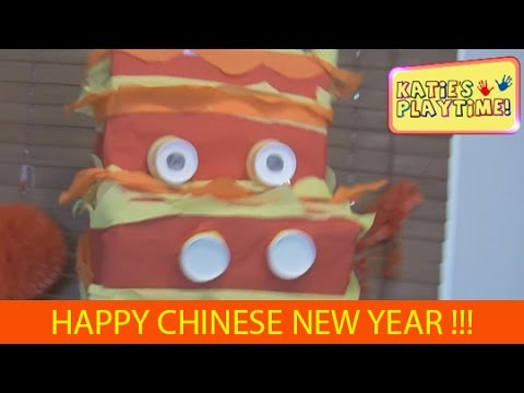 how to make a dragon head for chinese new year youtube