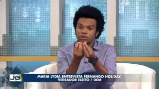 maria lydia entrevista fernando holiday vereador eleito dem