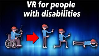 Enjoy all VR games despite physical disabilities? That works! WalkinVR tutorial and test