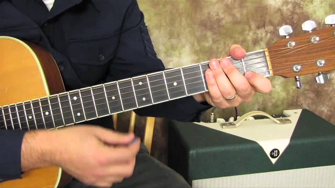 Beatles Guitar Lesson How To Play Rocky Raccoon Easy Beginner