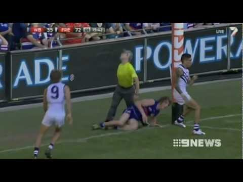 Dockers beat the Bulldogs to remain undefeated - Nine News Match report