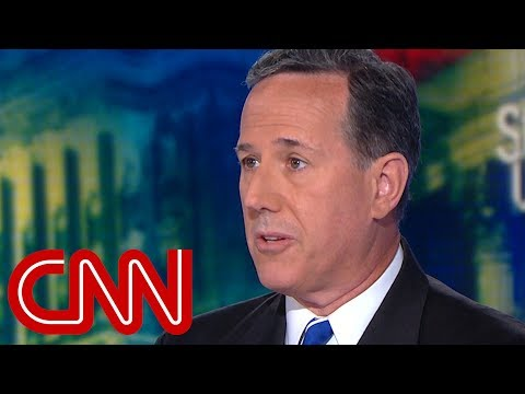 Santorum: Hyperbole to say missing migrant kids are lost