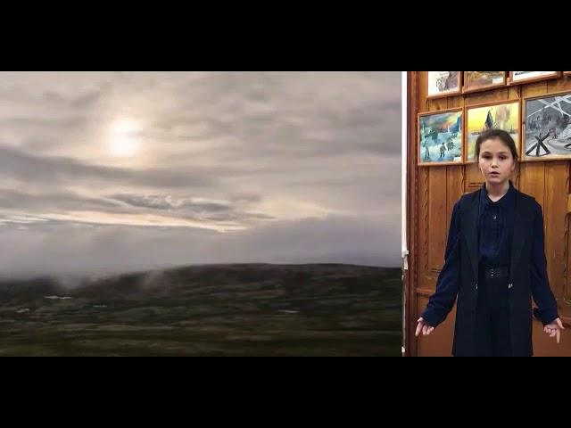Изображение предпросмотра прочтения – КсенияЗаболотная читает произведение «Потонула деревня в ухабинах» С.А.Есенина