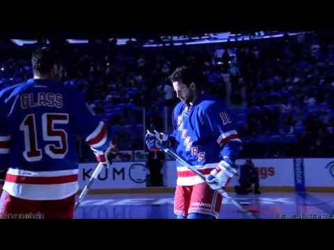 New York Rangers 2015-16 Home Opener Festivities