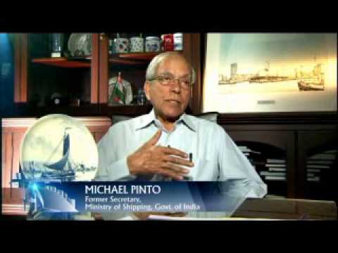 Michael Pinto, former secretary Ministry of shipping, on 8th Biennial Conference on Ports & Shipping