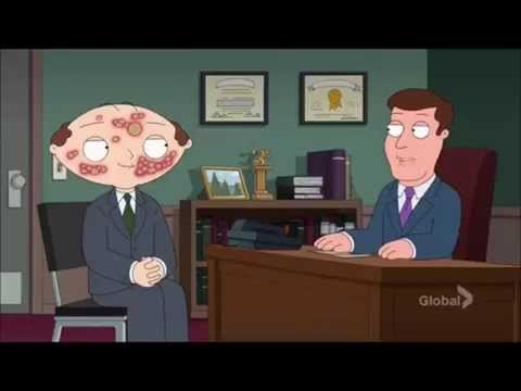 Family Guy - Stewie applies for a job (With Herpes)