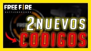 2 NUEVOS CODIGOS DE FREE FIRE - INFORMACIÓN OFICIAL