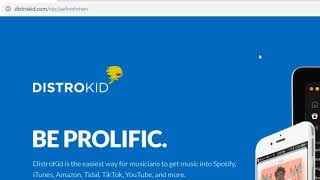 How To Get Your Music On Spotify, Apple Music, Tik Tok (DistroKid Tutorial)