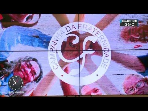 Superação da violência é tema da campanha da fraternidade deste ano | SBT Brasil (14/02/18)