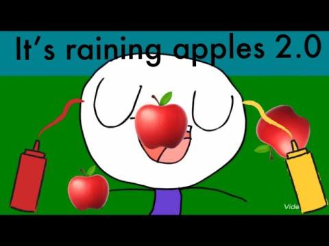 It's Raining Apples(Parody of It's Raining Tacos)