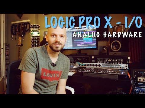 Using Analog Hardware With Logic Pro X - I/O Plugin